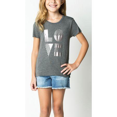 T-SHIRT KIDS LOVE FOIL