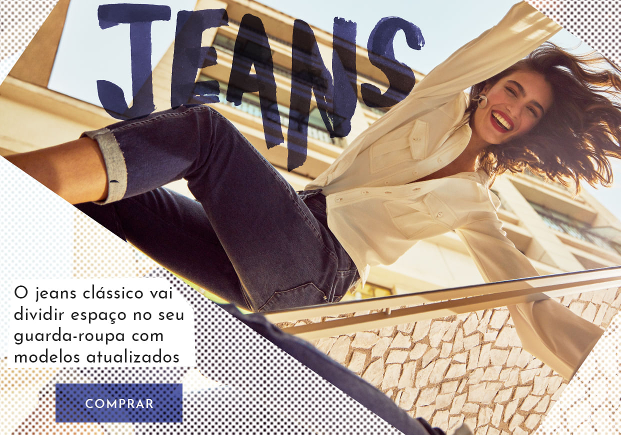 Jeans Clássico - Shoulder