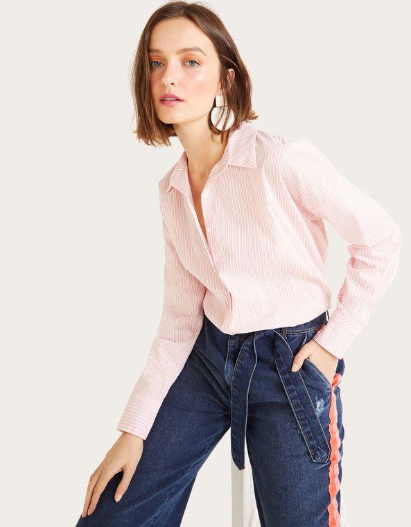 967b083caf Outlet Camisas Femininas - Shoulder