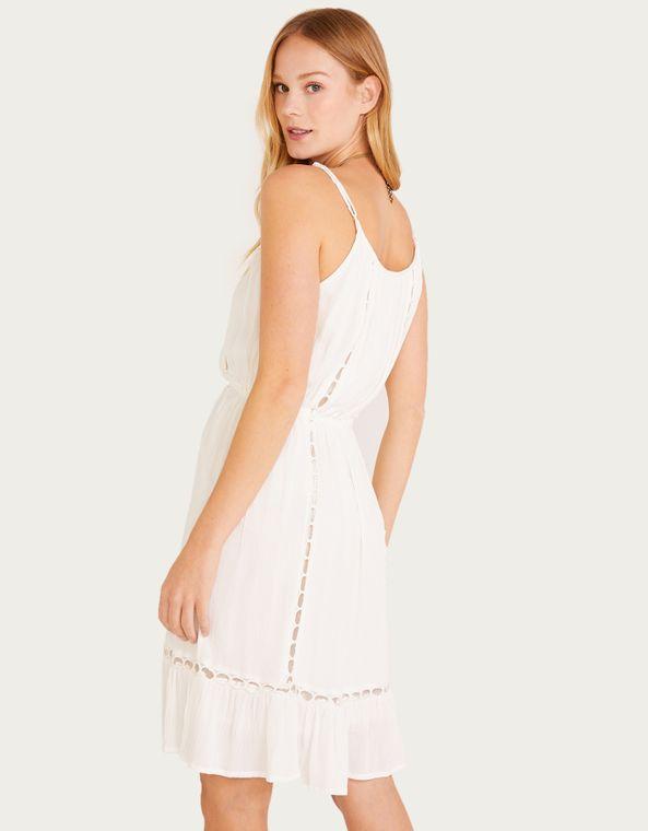 Outlet Vestidos Off White Shoulder