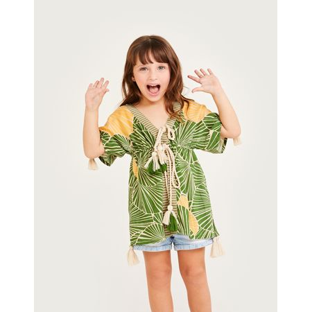 KAFTAN VISCOSE ESTAMPADO KIDS