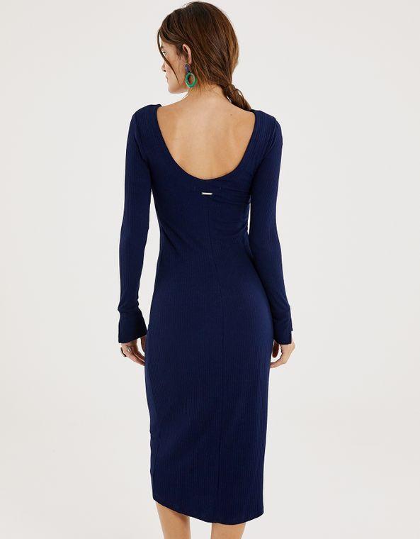 Vestido de renda azul com brilho