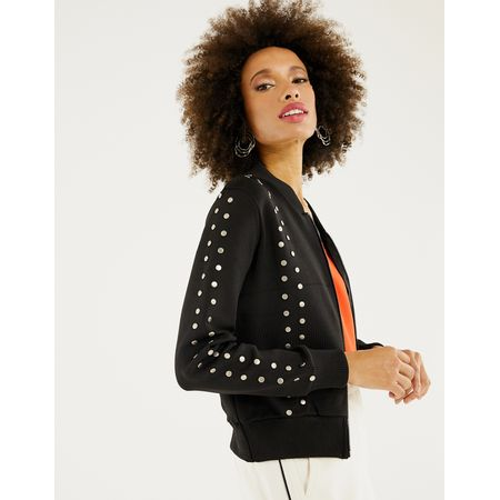 BOMBER TRICOT TACHAS